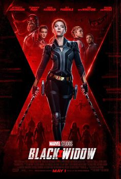 Black Widow 2020 Scarlett Johansson Natasha Romanoff movie new action poster Marvel comic movie qual