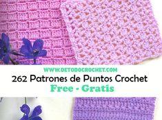 262 crochet stitches - book to store Crotchet Stitches, Crochet Granny, Crochet Yarn, Free Crochet, Crochet Books, Tapestry Crochet, Crochet Blanket Patterns, Baby Blanket Crochet, Crochet Diagram