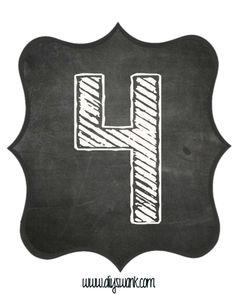 Chalkboard numbers - Chalkboard Letters for BannersFree Printable – Chalkboard numbers Happy Birthday Banner Printable, Free Printable Banner Letters, Diy Birthday Banner, Printable Numbers, Banner Template, 60th Birthday, Birthday Ideas, Chalkboard Numbers, Chalkboard Template