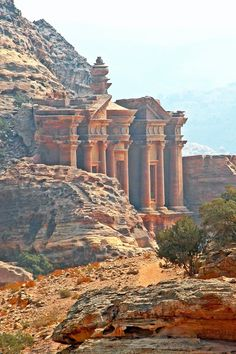 - Al Dier The Monastery - Petra - Jordan Oh The Places You'll Go, Places To Travel, Travel Destinations, Places To Visit, Terre Nature, Beautiful World, Beautiful Places, City Of Petra, Beau Site