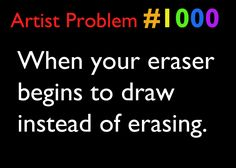 Artist Problems and this one is a huge disaster. Funny Art, Funny Jokes, Hilarious, Cassandra Calin, Art Jokes, Art Puns, Artist Problems, Artist Life, I Can Relate
