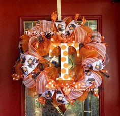 UT mesh wreaths