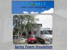 by sprayfoamz via Slideshare Crawl Space Insulation, Basement Insulation, Blown In Insulation, Home Insulation, Spray Foam Insulation, Home Renovation, Home Remodeling, Cellulose Insulation