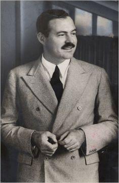 Ernest Hemingway, around 1937