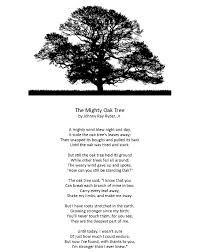 Image result for the oak tree poem