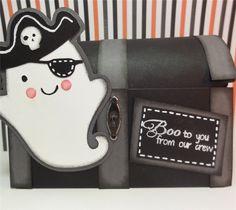 Project Center - Create A Critter 2 Challenge: Ghostly Treasure Box  #cricut