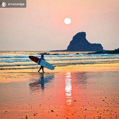 http://OkGranada.com  @errezuniga: #Surf #Sunset - Playa Maderas #SanJuanDelSur #Nicaragua #ILoveGranada #AmoGranada #Travel #CentralAmerica #Beach #Paradise