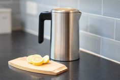 How to clean a kettle & remove limescale | Cleanipedia How To Clean Kettle, How Do You Clean, How To Remove, Electric Shock, Calcium Carbonate, Hard Water, Heating Element, Heating Systems