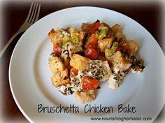 Bruschettw chicken bake