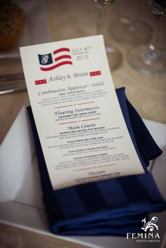 4th of July Wedding