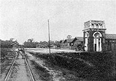 Estação de trem de Marituba-Pará-Em 1830