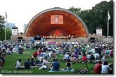 Hatch Shell,  Boston Esplanade. There's nothing like celebrating the 4th of July here!