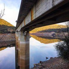 El nuevo #puente del Cardenal. Río #Tajo. #lascarreterasdeExtremadura