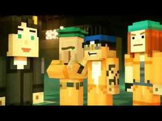 PAT - Minecraft: WHICH BUTTON OPENS THE SECRET WITH JEN! STORY MODE SEAS...