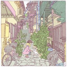 Shinji Tsuchimochi: Tokyo 100 views Ichiyo Higuchi's old house