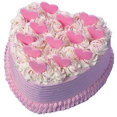 Love this heart cake