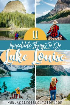 This post documents all the best things to do in Lake Louise and surrounding area. Whether you want to hike the iconic Big Beehive, sip tea at the Lake Agnes tea house or go canoeing at Moraine Lake. What to do in Lake Louise   Lake Louise activities   Visit Lake Louise   Canoeing on Lake Louise   Lake Louise Trip