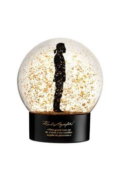 Karl Lagerfeld Snow Globe