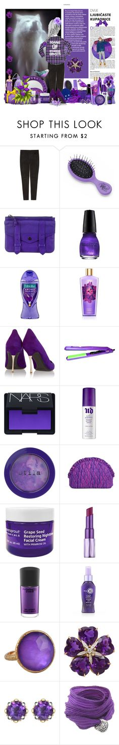 """""""Cake x DB: The Wicked Ones"""" by alisijaa ❤ liked on Polyvore featuring Rebecca Minkoff, GE, Proenza Schouler, Nicholas Kirkwood, NARS Cosmetics, Urban Decay, Stila, Vera Bradley, MAC Cosmetics and Theo Fennell"""