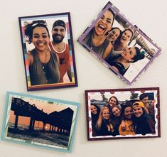 Easy DIY Picture magnets