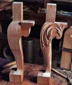 Carving Decorative Molding • WoodArchivist