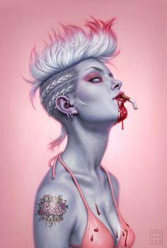 Hot Conceptual Art by DanDos Santos