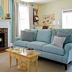 Lucy Sofa in Lagoon Blue