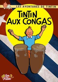 Les Aventures de Tintin - Album Imaginaire - Tintin au Congas