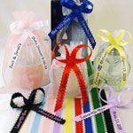 satin loop edge pesonalized ribbons