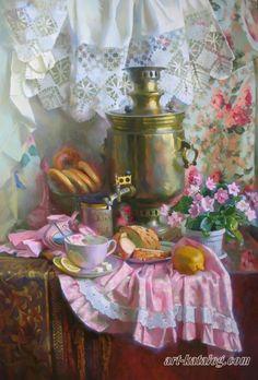 Горячева Светлана Чай с лимоном