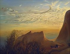 Anticipation of Night's Shelter by Vladimir Kush
