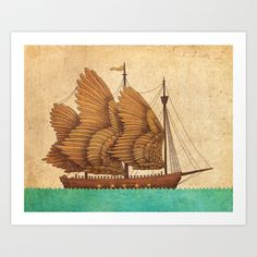 Buy Winged Odyssey by Terry Fan as a high quality Art Print. Worldwide shipping available at Society6.com. Just one of millions of products available.