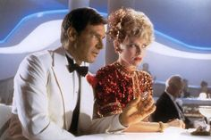 Harrison Ford, Kate Capshaw as Willie Scott, Indiana Jones and the Temple of Doom (1984)