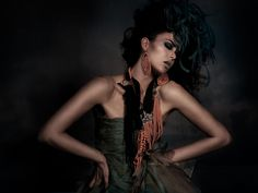 Natascha Verkaik | Peter Coulson #photography | #Hair & #Make up by Caroline Olweny | Couture Inq, S/S 2012