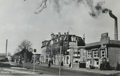 Stationsplein Almelo (jaartal: 1950 tot 1960) - Foto's SERC