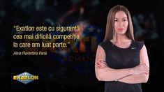 """121 aprecieri, 10 comentarii - ExatlonRomania (@exatlonromania) pe Instagram: """"""""Exatlon este cu siguranta cea mai dificila competitie la care am luat parte."""" - Alina Florentina…"""""""