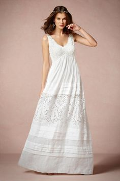 The Perfect Wedding: casual linen wedding dresses