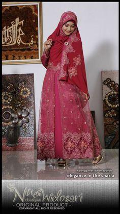 HANEESA 05 MATERIAL:SPANDEK+BRUKAT+CHIFFON IDR.1.700.000 #BUSANA MUSLIM,#SYAR'I,#DRESS,#WEDDING DRESS,#GAUN