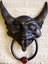 Gargoyle Door Knocker (Clod) Green Man Pagan Gothic Wicca Labyrinth Fantasy BNIB from the United Kingdom - ebay