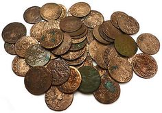 LOT OF 50x Very Old Poland Sweden Solid Schilling cleaned Coins #B11 - http://coins.goshoppins.com/medieval-coins/lot-of-50x-very-old-poland-sweden-solid-schilling-cleaned-coins-b11/