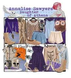"""""""Requested by disneylamb: Annalise Sawyers Daughter of Athena ~ Wardrobe"""" by liesle ❤ liked on Polyvore featuring Mint Velvet, Uniqlo, American Eagle Outfitters, H&M, Victoria Beckham, Converse, Sunny House, Tommy Hilfiger, Charlotte Russe and Bertha"""
