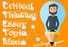 critical thinking writing topics