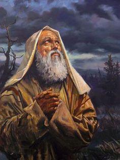 ARTIST original ART-- Judaism Abraham portrait oil painting # 100% handpainted painting