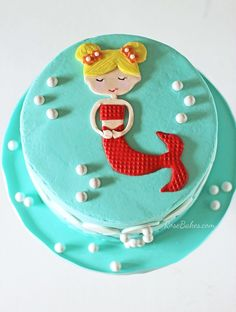 mermaid cake images - Google Search