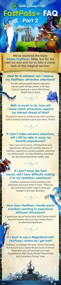 We've explored the basic Disney FastPass+ FAQs, but for the real ins and outs let us take a closer look at this magical service offered at the Walt Disney World Resort! The best tool to have in your Disney planning tool box is your 3D Travel Specialist! Get your free quote today! #3DTC