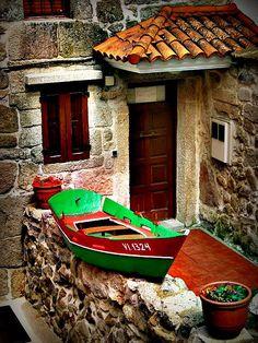 me encanta España (en Combarro, Galicia)