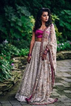 Custom Made Grey Embroidered Heavy Work Lehenga Choli Indian Skirt, Indian Dresses, Indian Attire, Indian Wear, Indian Style, Indian Ethnic, Indian Wedding Outfits, Indian Outfits, Pakistani Outfits