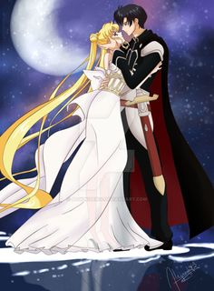 Princess Serenity & Prince Endymion from Sailor Moon Crystal