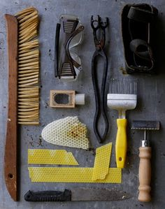 Tools of the Trade from brown dress with white dots