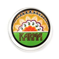Karma Solid Perfume: Patchouli, sweet orange and lemongrass oils combine to create a scent that is both warm, and enticing.